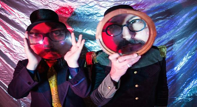 On the Claypool Lennon Delirium's Monolith of Phobos, tinkering organs prance around swirls of reverb and grumbling break-neck bass.
