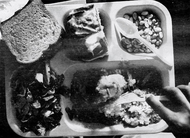 Food at God's Extended Hand looks and tastes much the same as the food served at St. Vincent de Paul's.