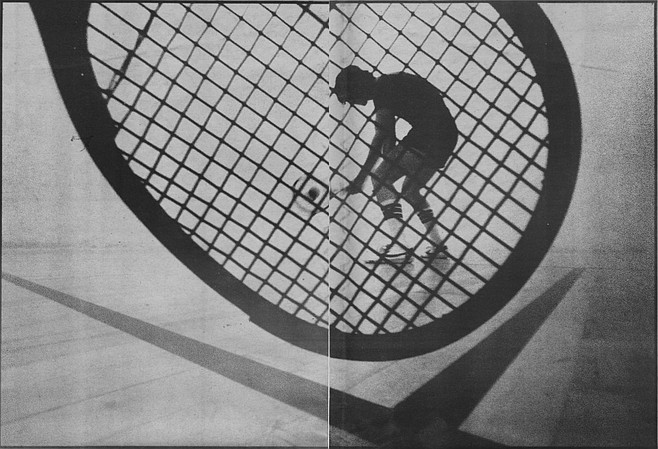 In 1969, another San Diegan was building tennis-racquet stringing machines in his garage in Point Loma. He was a high school friend of Bud Muehleisen's, and the chance meeting of the two at the Kona Kai Club in 1970 was to have a profound effect on the sport of racquetball.