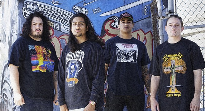 Mizery loves company: the Chula Vista metal-core quartet says it's down to two venues — the Methodist-run Industry and Ché Café.