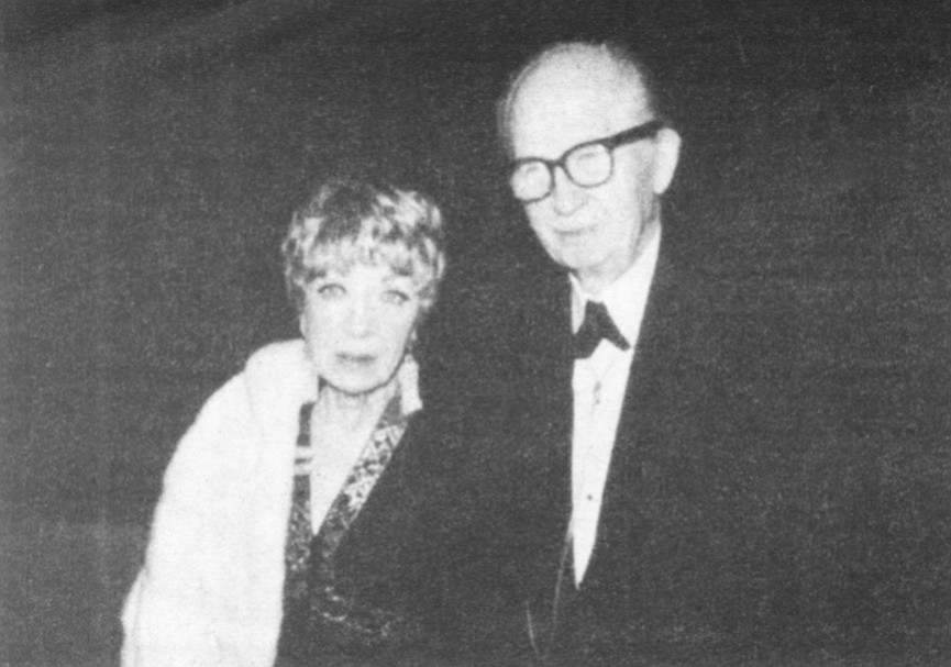 Frances and John Lloyd Wright. At lunch Pat is always joined by her husband, retired superior court judge Louis Welsh, whose parents, Frances and John Lloyd Wright (son of Frank Lloyd Wright), both now deceased, lived next door.