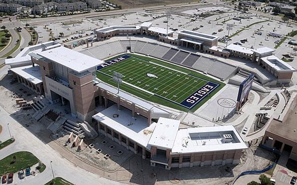 Eagle Stadium in Allen, Texas