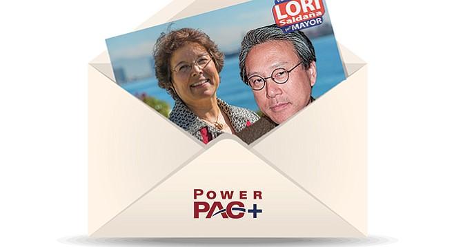 Lori Saldaña and Andy Wong
