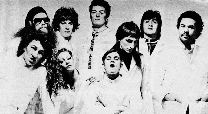The Tubes. When they appeared on the Cher TV special in April of the next year, I was almost overcome by a fit of the whips and jingles