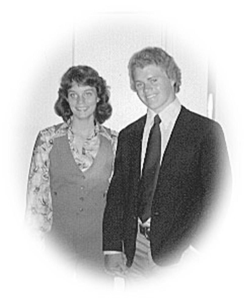 Liz and Dan, Grad Night, 1975