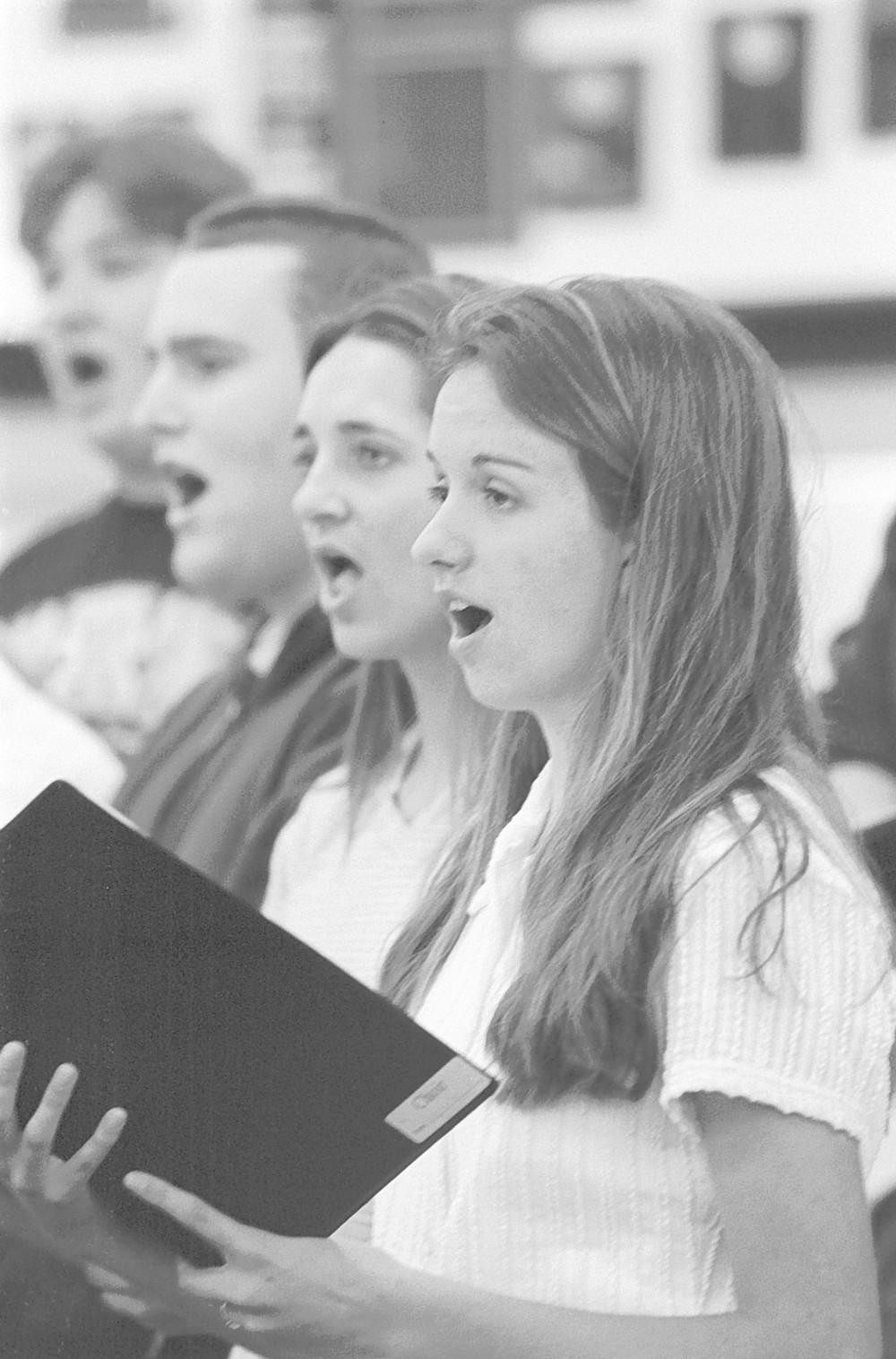 Barbara Fletcher's choir class, Poway High School, The school employs a drug-sniffing dog service.