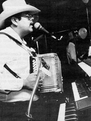 """Jorge: """"I believe that I have kind of mixed music, a little bit of every accordionist I have known."""""""