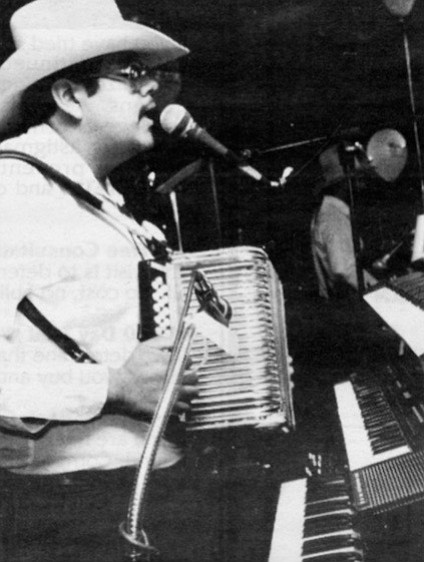 "Jorge: ""I believe that I have kind of mixed music, a little bit of every accordionist I have known."""