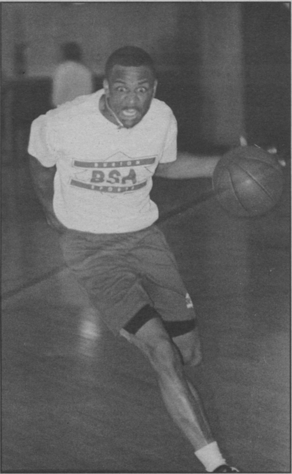 Dwayne Burton played all over town, including the Tierrasanta league, which he considered the strongest.