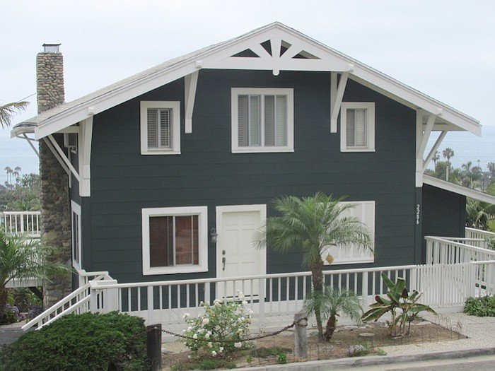A recent photo of Cullen's house (now a rental)