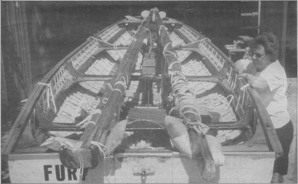 Vic had remembered selling Fury to Yank GIs stationed in Brisbane during the early '40s. It's thought that Fury was brought to America over 50 years ago, as deck cargo aboard a liberty ship at the end of WWII.