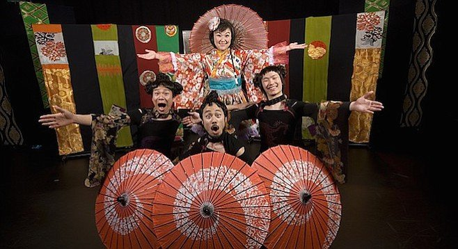 Will You Swear Your True Love could be described as kabuki meets The Mikado meets Rashomon — the modern version.