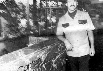 Mr. Rothenberg: This is Dave Nasella, the bell captain I told you about who had the good stories. I don't know why there is a blur in back. It may be my camera which is not too good. --Borokowski