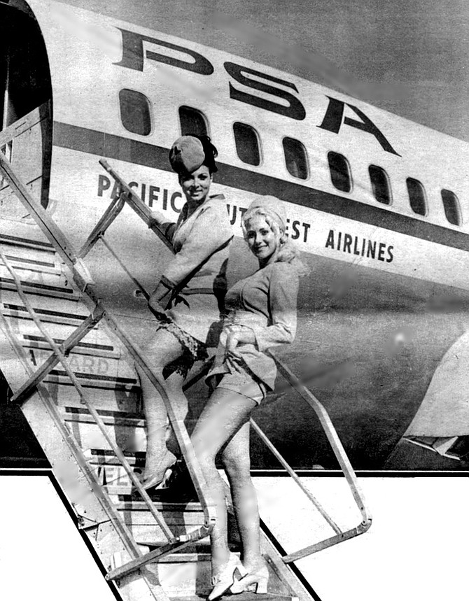 PSA had gained a nickname that was at once endearing and mordant: PSA was the Go-Go Airline. - Image by Gordon Menzie