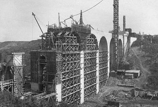 Built for $150,000, the Cabrillo Bridge, with inflation amounts to $3.5M in today's money. The Jacobs Plan in 1915 money amounts to $2.5M. (Photo: SOHO)