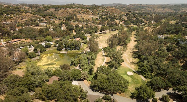 Fallbrook Golf Course on February 8, 2016
