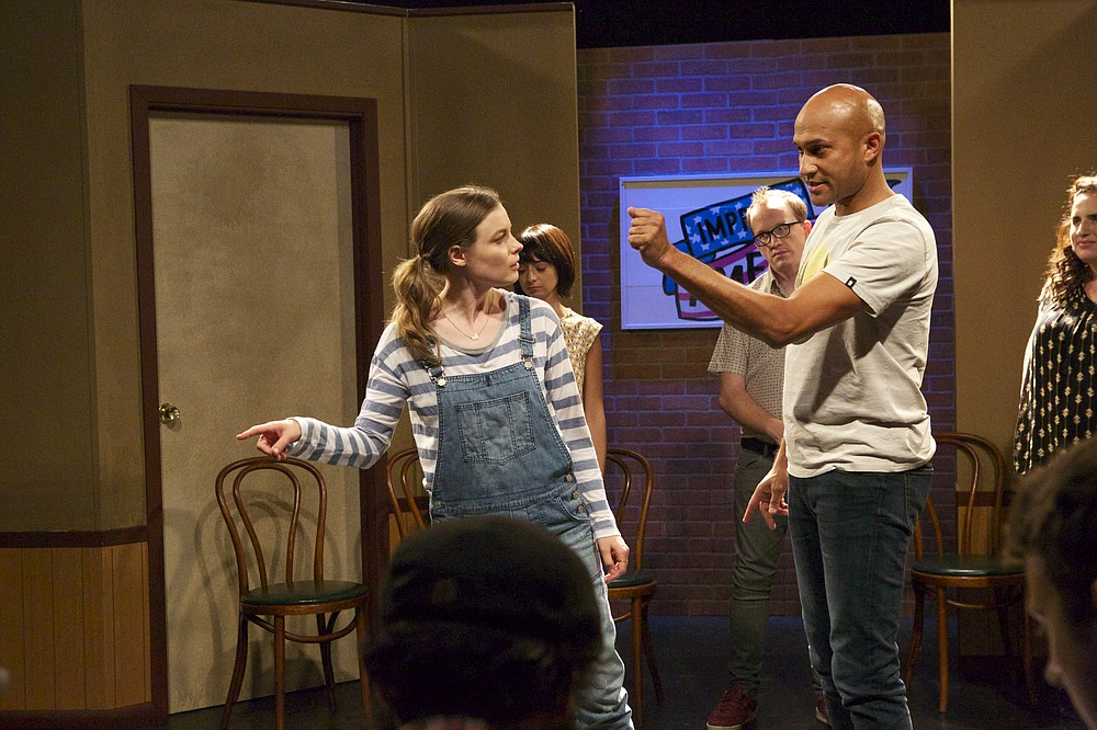 Improv olympians Gillian Armstrong, Kate Micucci, Chris Gethard, Keegan-Michael Key, and Tami Sagher co-star in Don't Think Twice.