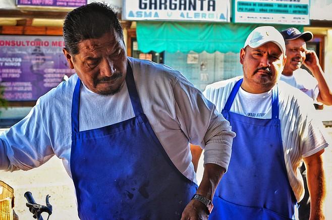 Angel Antonio and Guillermo Mireles of Los Compadres
