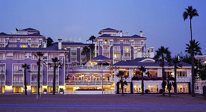 Santa Monica's Shutters on the Beach
