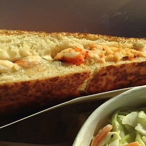 The winner: the lobster grilled cheese