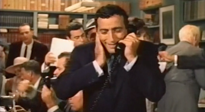 Tony Bennett on the phone to archives worldwide begging curators to  destroy every existing print of The Oscar.