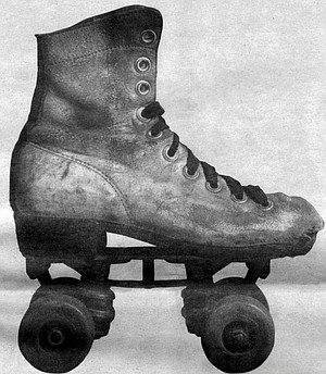 """""""In the middle Fifties, we stopped using the clamp-on skates."""""""