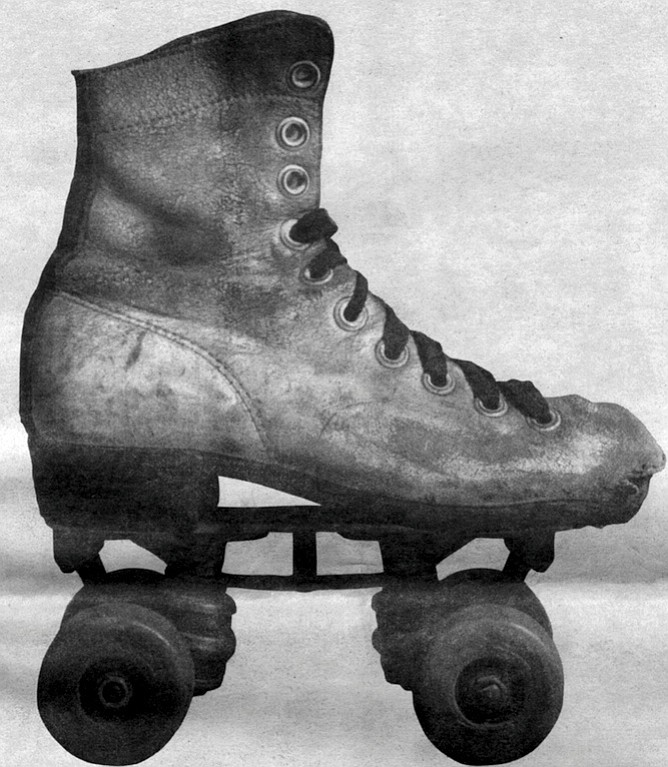 """In the middle Fifties, we stopped using the clamp-on skates."""