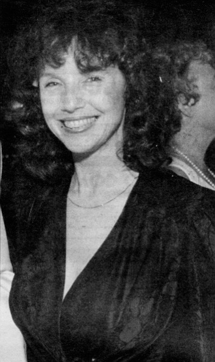 """Kit Goldman c. early '80s. Pearson: """"Whenever I'd go to her art or theater events. I'd be 'Mr. Goldman.'"""""""