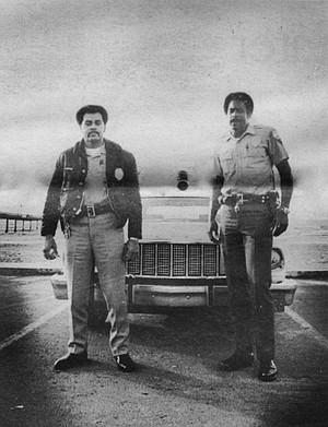 San Diego Policemen in Ocean Beach