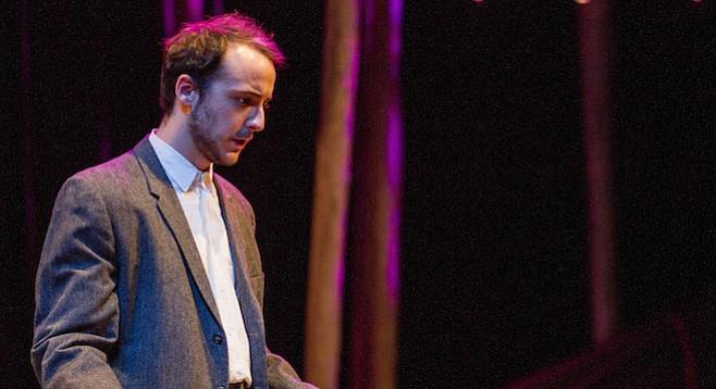 Kevin Hafso-Koppman as Konstantin Treplev in The Seagull (USD grad show)