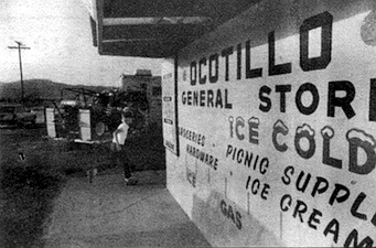 "Ocotillo General Store. ""The residents of Ocotillo had seen Michael around town several times, buying groceries and filling his Plymouth Valiant with gas. """