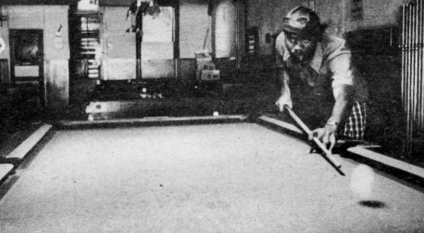 Because it is not especially exciting to watch, billiards is a game that many people play but nobody pays attention to.