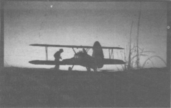 Harry Aberle died in the Pitts Special that he and his son made. He crashed after takeoff while Yvonne watched from in front of the hangar.