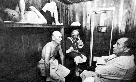 Hotel's sauna