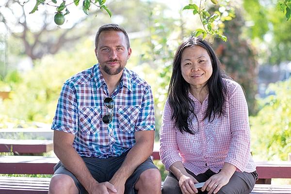 Corey Pahanish and Tamy Nguyen