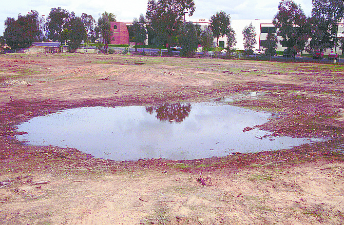 """Arjonas Drive Site. """"In the old days, you had pools all over San Diego.""""  - Image by Royce Riggan Jr."""