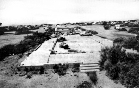 Slab City takes its name from the building slabs left over from Fort Dunlop Army Base, one of the places where General Patton trained his tank troops during World War II.