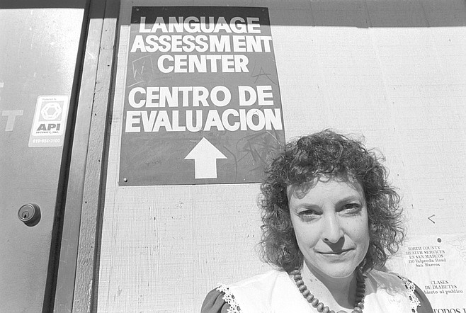 """Corie Rose: """"If anyone is lacking attention in the classroom, it's the limited English proficiency students. They are much more afraid of speaking out and asking questions than the English speakers."""""""