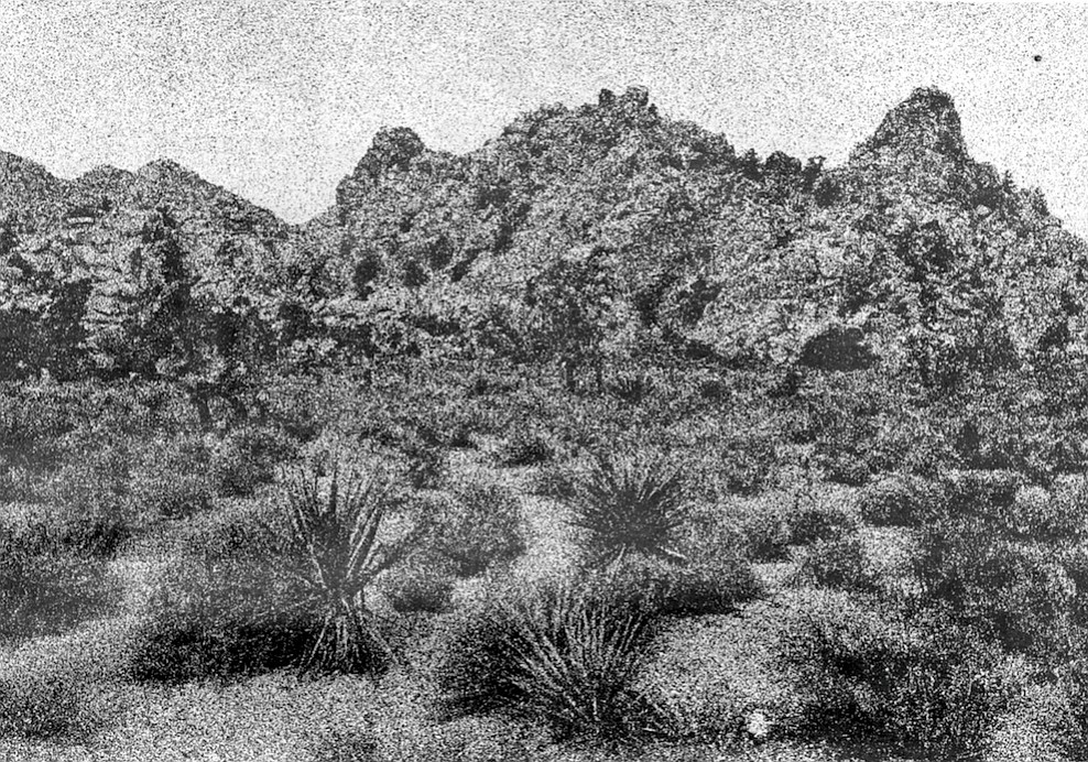 Anza-Borrego Desert. The Spanish hated the desert. For them it was a vision of Hell.