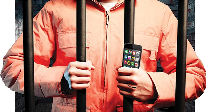 """""""Whole body"""" scanning to prevent jailhouse smuggling of contraband such as cell phones could violate the Prison Rape Elimination Act of 2003."""