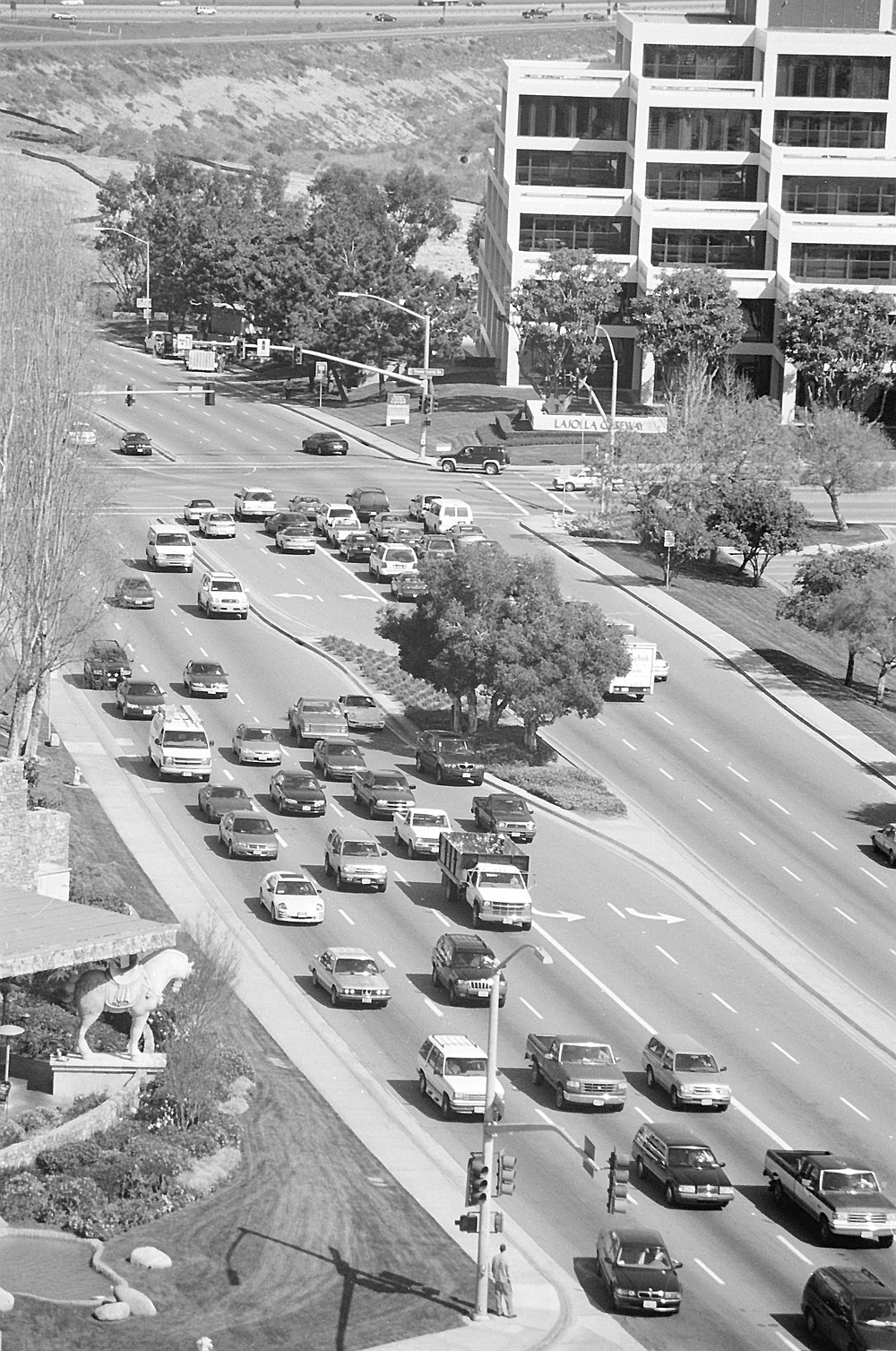 Anyone who isn't blind would see that we are already experiencing severe congestion in University City, mainly on La Jolla Village Drive.