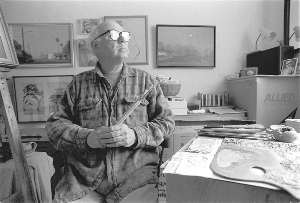 Wade Cline tells me that he is not the accomplished painter others think he is.