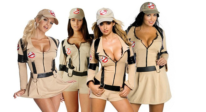 Leaked concept art for the studio's vision for the all-female Ghostbuster team