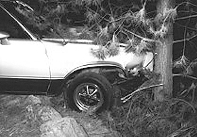 The shot, which traveled through Harper's brain stem, was fatal. He slumped forward in his seat, and the car rolled down the hill and came to rest against a neighbor's tree.