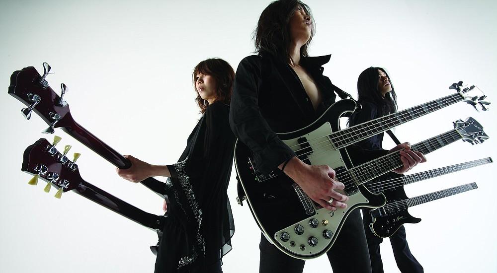 Japanese noise-rock trio Boris plays Pink Friday night at Casbah!