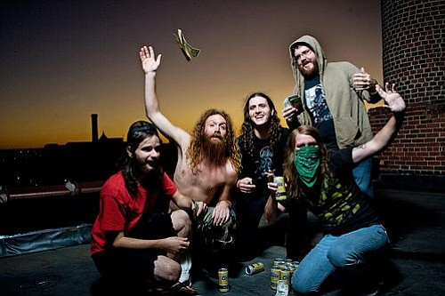 Hard-rocking Inter Arma brings Paradise Gallows to Soda Bar on Sunday.