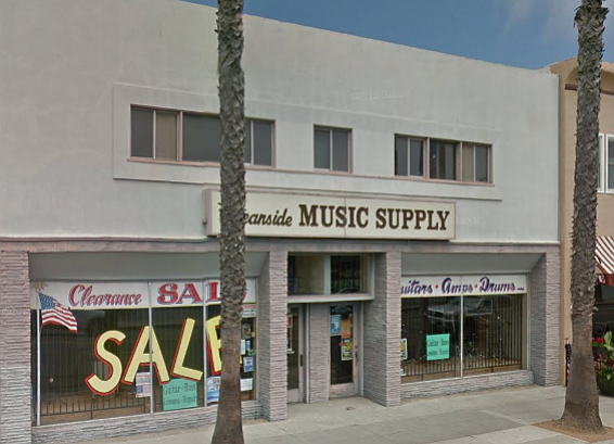 Oceanside Music Supply will close for good once its stock of guitars, clarinets, and music stands is sold.