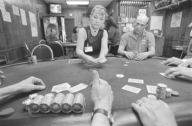 Palomar Card Club - Image by Sandy Huffaker, Jr.
