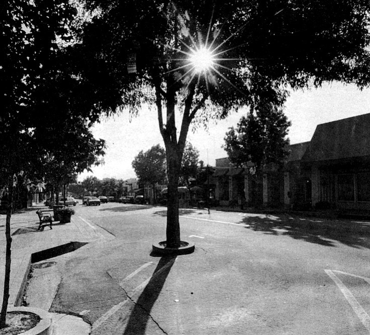 La Mesa Boulevard. On the southwest comer of Normal and the Boulevard, there used to be a 7-Eleven, where at age 12 I got busted shoplifting a pack of Marlboros. The proprietor called my dad.