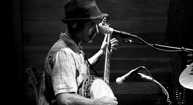 Soloist Banjo Kyle says Vista venues have welcomed him with open arms.